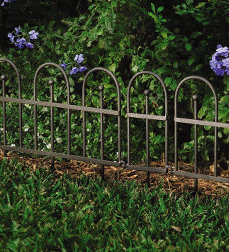 wrought iron flower bed edging Garden Dreams Pinterest