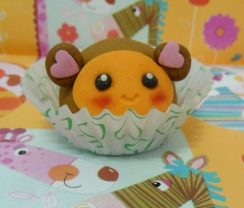 Cakepops scimmia kawaii, ricette kawaii ^-^