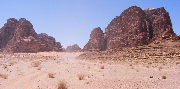Wadi Rum, o Vale da Lua | SAPO Viagens