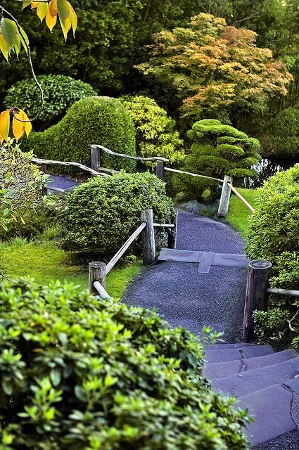 Japanese Tea Garden in Golden Gate Park, San Francisco, California.