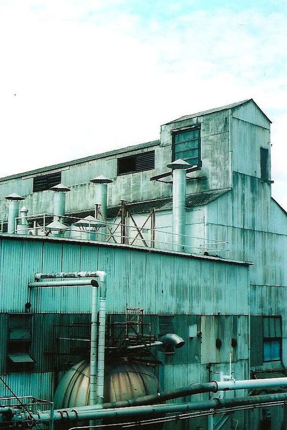 Old Paper Mill Industrial Landscape Oregon Film by the333alliance, $20.00