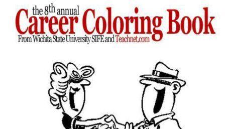 Career Coloring Book