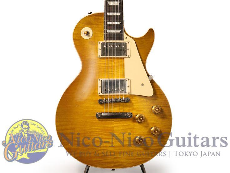 Gibson Custom Shop 2016 True Historic 1960 Les Paul Murphy Aged (Green Lemon)