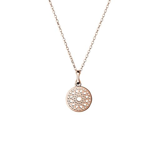 Links of London Rose Gold Timeless Small Necklace