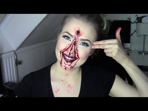 HOW TO MAKE A GUNSHOT WOUND! (SFX)   QUEENKINGSFX #sfx #specialeffects #specialeffectsmakeup #gunshot #shotwound #wound #gun #makeup #gore #blood #bloody #halloween #queenkingsfx