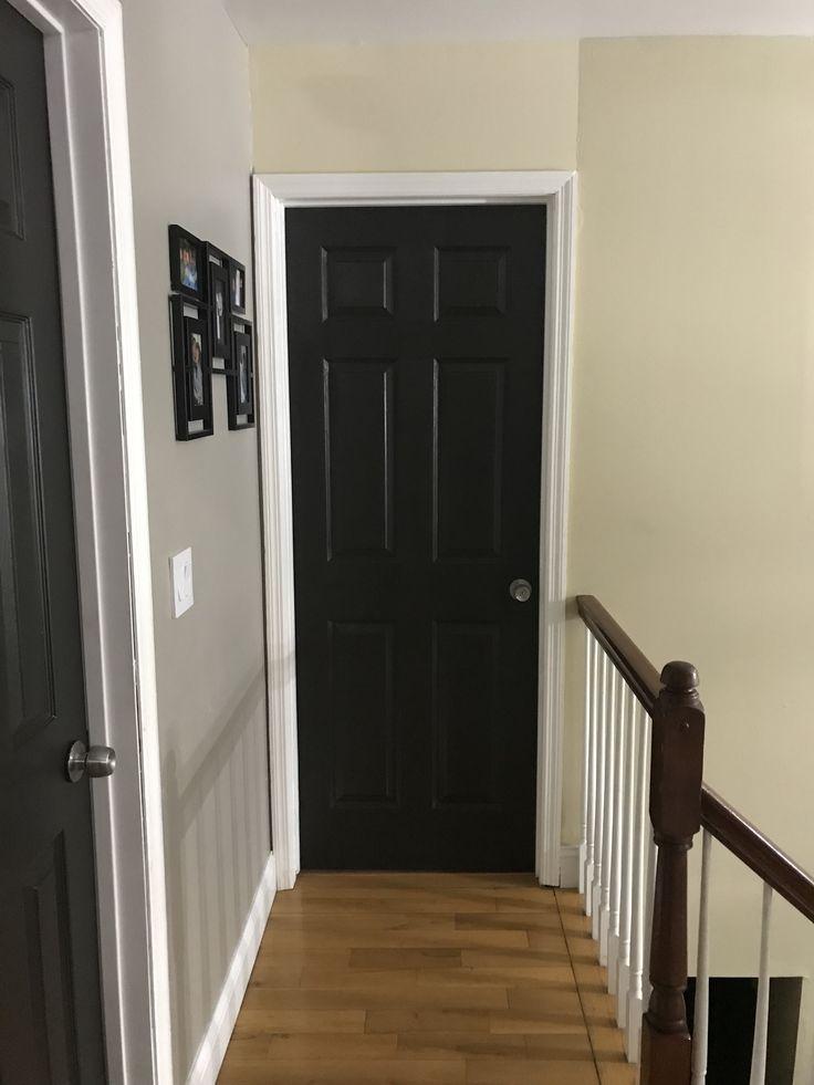 Brown Interior Doors Painted