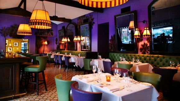 Purple Palm Restaurant & Bar, Colony Palms Hotel, Palm Springs, CA