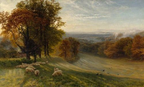 Autumn Morning George Vicat Cole (British, 1833–1893)