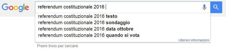 Referendum Costituzionale 2016 : il 4 Dicembre Renzi contro tutti