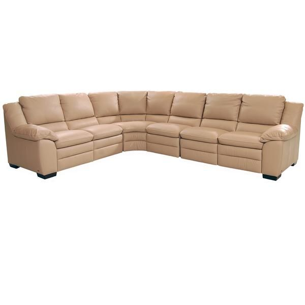 Jerrick Taupe 128 4 Piece Reclining Corner Sofa By