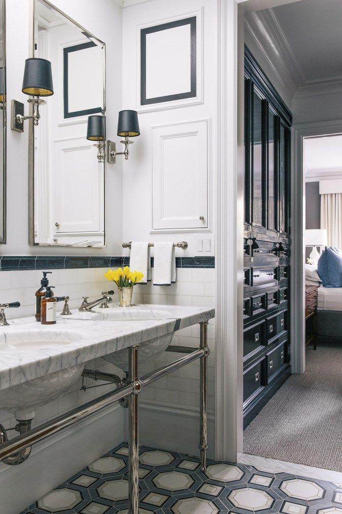 San Francisco Home via Purodeco - bathroom