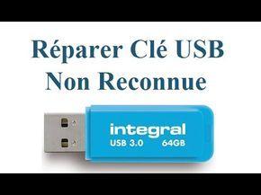 récupérer clé USB qui n'est plus reconnue par windows ? - YouTube