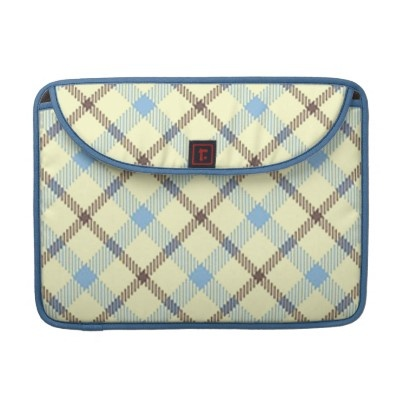 Change the Color Plaid 1 Macbook Pro Sleeve