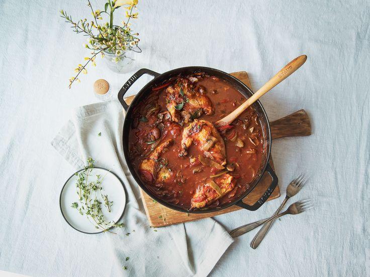 Hähnchen-Schmortopf mit Gemüse - Rezepte - Kitchen Stories