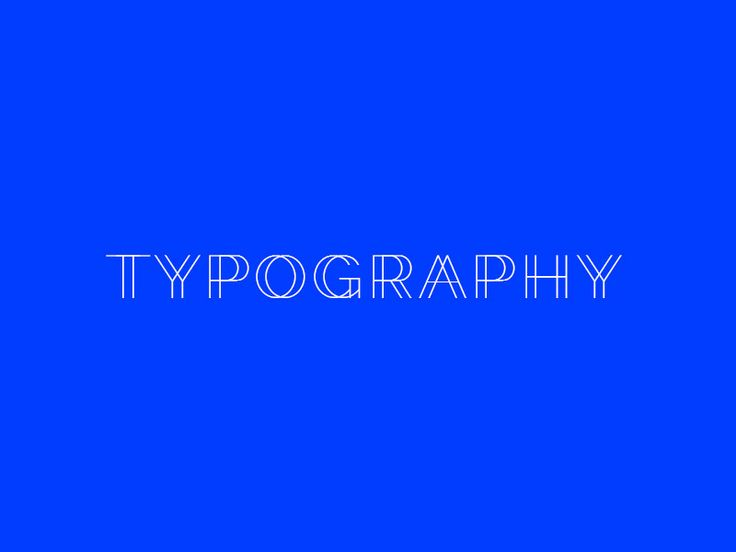 Typography with Raleway Google Font