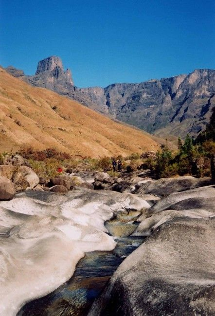 Marble Baths, Injasuthi,  Drakensburg - most awesome place to camp (in the Marble baths caves up on the hill)