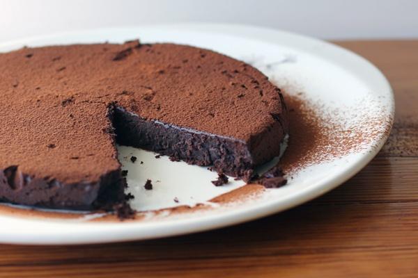 Flourless chocolate torte | My Cup of Tea | Pinterest
