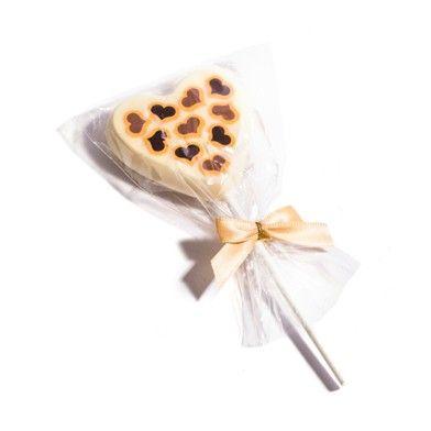 White Chocolate Heart Lollypop #ValentinesDay #HaighsOnline