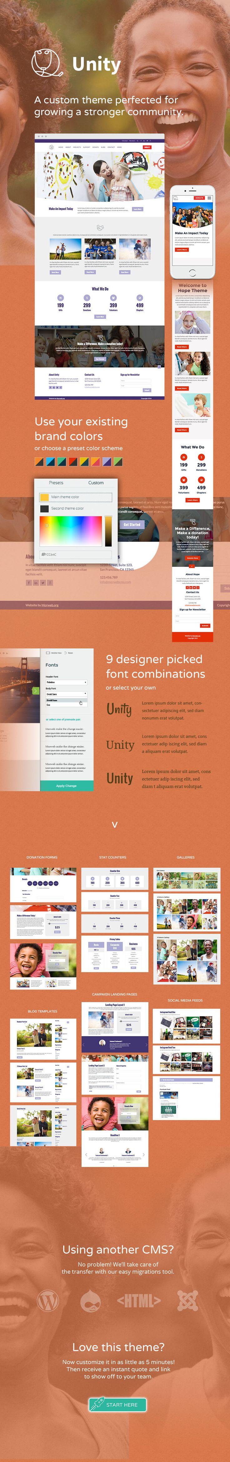 Unity Theme - Morweb.org
