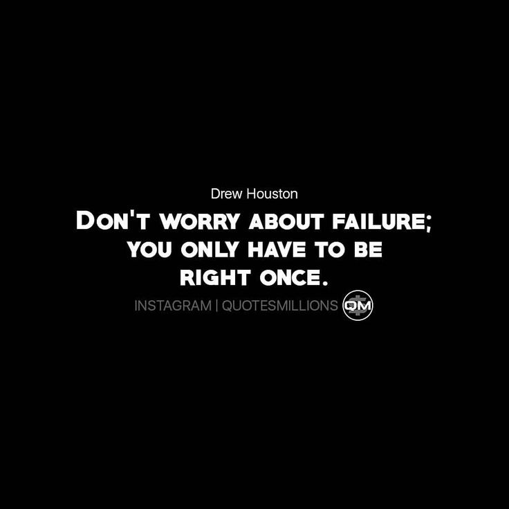 """702 Likes, 1 Comments - Quotes Success & Motivational (@quotesmillions) on Instagram: """"It doesn't matter how many times you fail because once you do get it right, that will be all that…"""""""