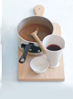 Red Wine Gravy - this is a good one to learn, it often comes in handy