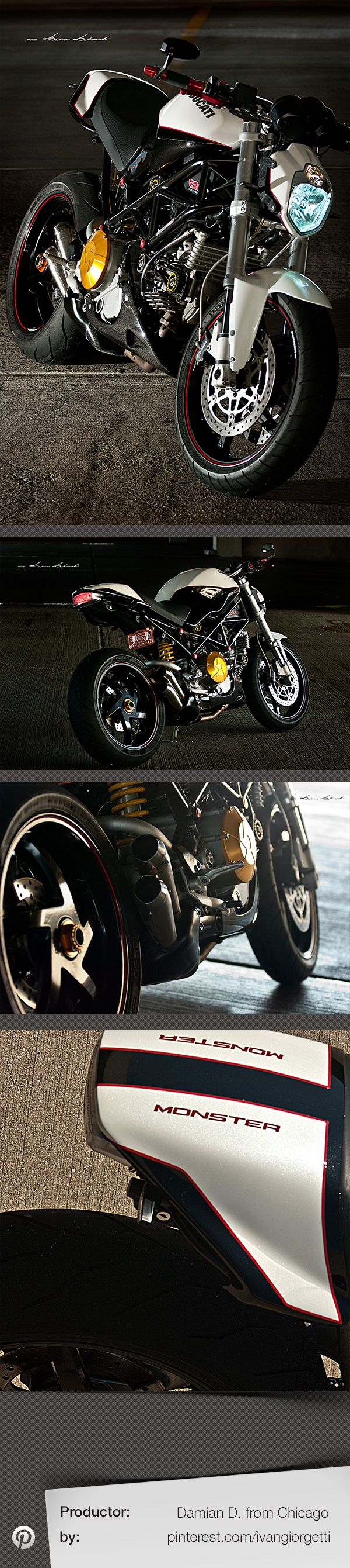 Ducati Monster S2R by Damian D. from Chicago