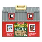 Игровой набор 'Складной деревянный сарай для животных' из серии 'Возьми с собой' (Fold & Go), Melissa & Doug [3700]