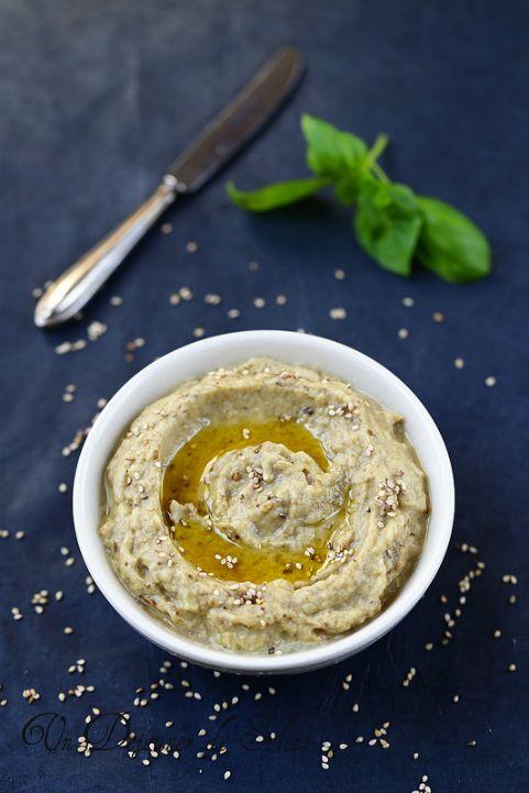 Baba ganoush ou le caviar d'aubergines de Moyen-Orient