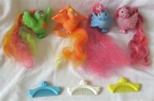 80s80S, Blue, Ponies, Fairies Tail, Fairy Tail, Favorite Toys