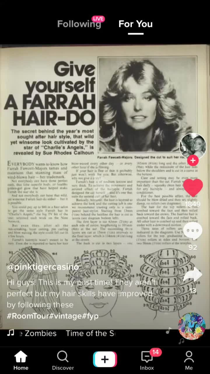 Mallory Jade Groovy Mal On Tiktok I Got The Instructions From Pinktigercasino Video Fyp 70s Hair 80s