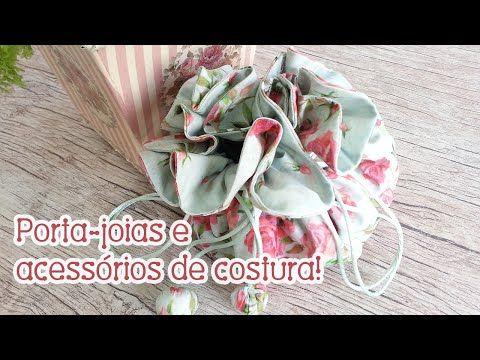 Patchwork Ao Vivo #53: bolsinha porta-joias - YouTube