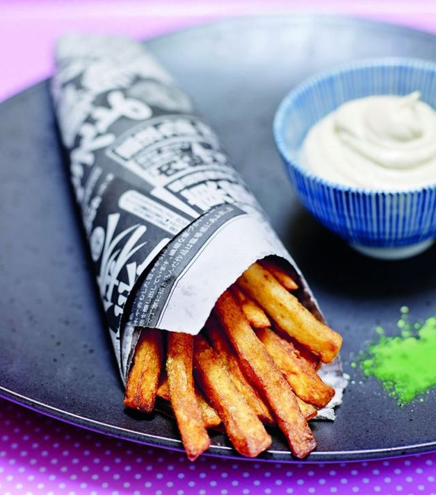 Rien de tel que des frites maison pour mettre tout le monde d'accord ! Nous vous proposons notre #recette originale de frites au wasabi. Crédits photo et recette : Fred Chesneau / Jean-Claude Amiel / CNIPT. Source : Relaxnews.