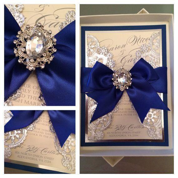 61 best Wedding Invitation Embellishments images on Pinterest - fresh invitation box