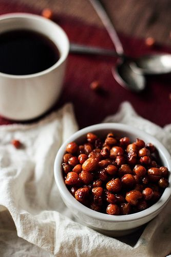 Maple Roasted Chickpeas by pastryaffair, via Flickr