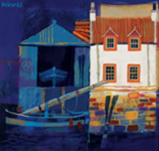 Art Prints Gallery - Boat House (Limited Edition), £75.00 (http://www.artprintsgallery.co.uk/George-Birrell/Boat-House-Limited-Edition.html)