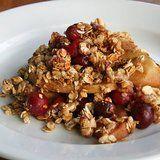 Vegan Apple Cranberry Crisp