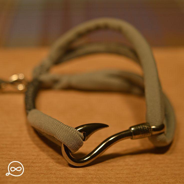 Gunmetal Hook Bracelet. #tufatufa