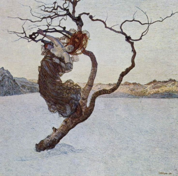 Giovanni Segantini, The Evil Mother