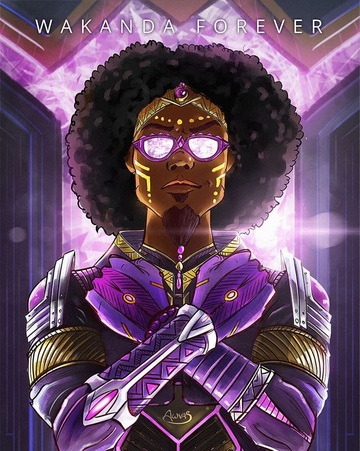 "120 Likes, 2 Comments - Anderson Awvas (@awvas) on Instagram: ""Wakanda e eu <3 Fiz esse auto retrato como se eu fosse um guerreiro do reino imaginário mais…"""