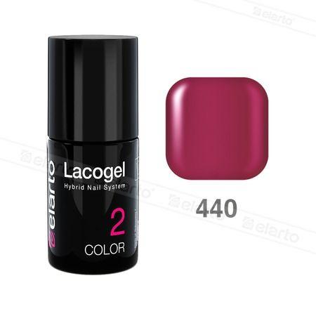 Lakier hybrydowy Lacogel nr 440 - magenta 7ml #lacogel #elarto #magenta
