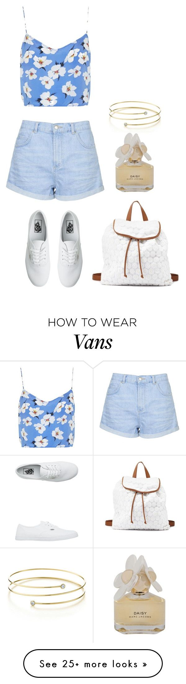 """""""Nice"""" by honeyat on Polyvore featuring moda, Charlotte Russe, Boutique, Topshop, Vans, Elsa Peretti e Marc by Marc Jacobs"""