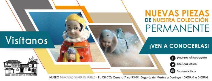 Ven y conoce las nuevas piezas de nuestra colección permanente  #Arte #Colonial #Colección #NuevasPiezasdecolección  #museoelchicó #Febrero Facebook: https://www.facebook.com/museoelchicobogota/ Instragram: https://www.instagram.com/museoelchico/ Twitter: https://twitter.com/museoelchico Flick:https://www.flickr.com/photos/145517416@N06/ Pinteres: https://www.pinterest.com/museoelchico/ Tumblr: https://museoelchico.tumblr.com/ Google+: https://plus.google.com/u/0/101125780577289316710