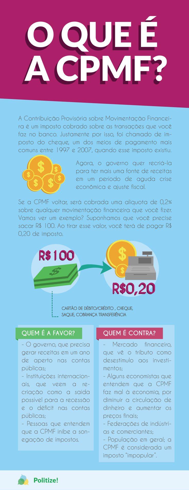 Entenda a CPMF,o imposto que pode ser recriado por conta do ajuste fiscal.