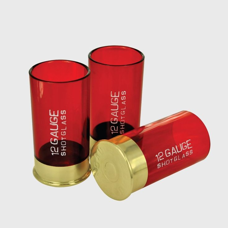 12 Gauge Shaped Shot Glasses Set Of 4  #sale #mzube #gift #cool #cheap #shopping #birthday #quirky #gifts #presents   https://www.mzube.co.uk