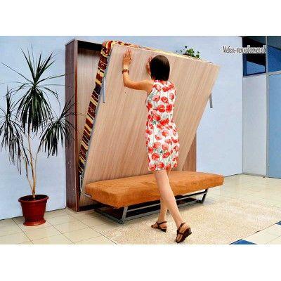 Трансформер шкаф кровать с диваном РФ102 (1600*2000)