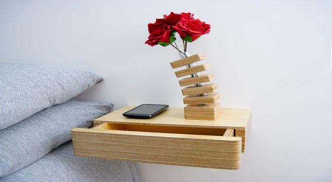 Pacco, el cajón-balda flotante – Revista Muebles – Mobiliario de diseño