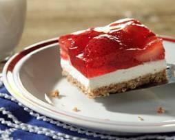 Strawberry Pretzel Jello Dessert