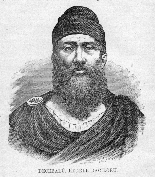 Decebalus (ruled 87-106) was the last king of Dacia. He is famous for fighting three wars, with varying success, against the Roman Empire under two emperors. After raiding across the Danube, he defeated a Roman invasion in the reign of Domitian, securing a period of independence during which Decebalus consolidated his power.