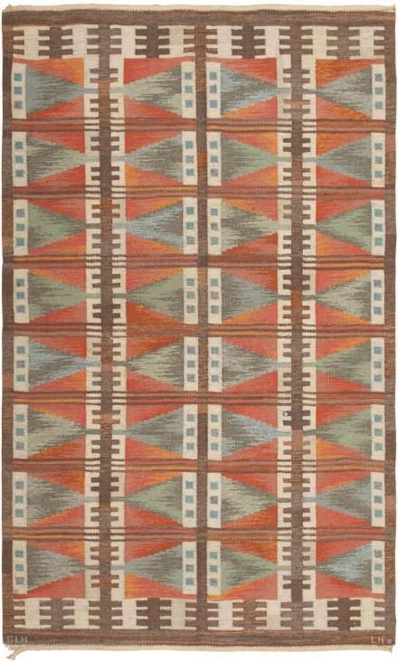 : Swedish Rugs, Vintage Scandinavian, Quilts Inspiration, Colour Patterns, Textiles Rugs Fabr, Textiles Design, Vintage Swedish, Woven Rugs, Interesting Colors