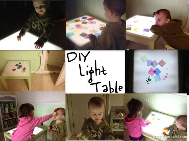 DIY Light Table: Ikea Lack Hack (With